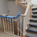 Opening cap two handrails.