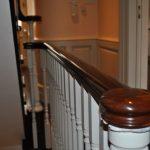 landing handrail opening cap