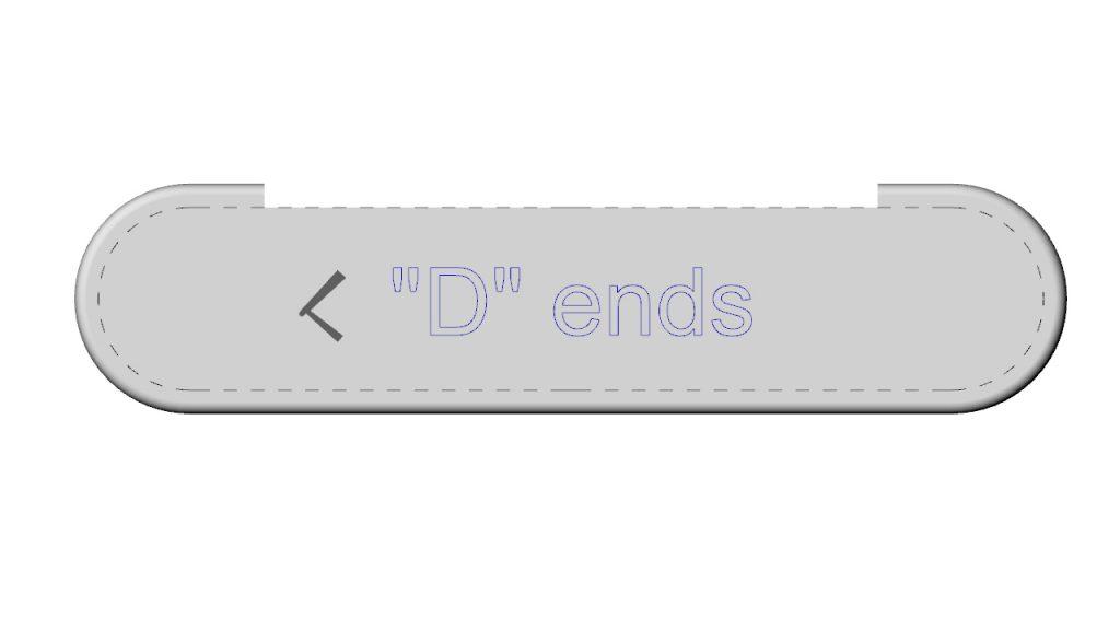 D tread ends.