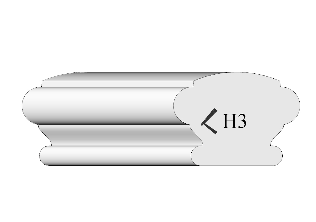 handrail profile 3 shaded