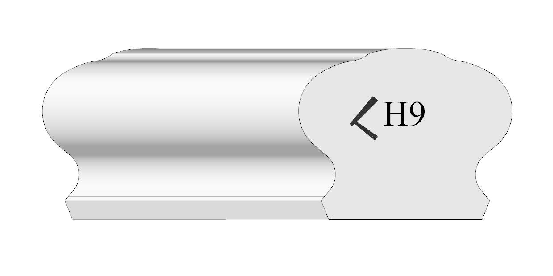 handrail profile 9 shaded