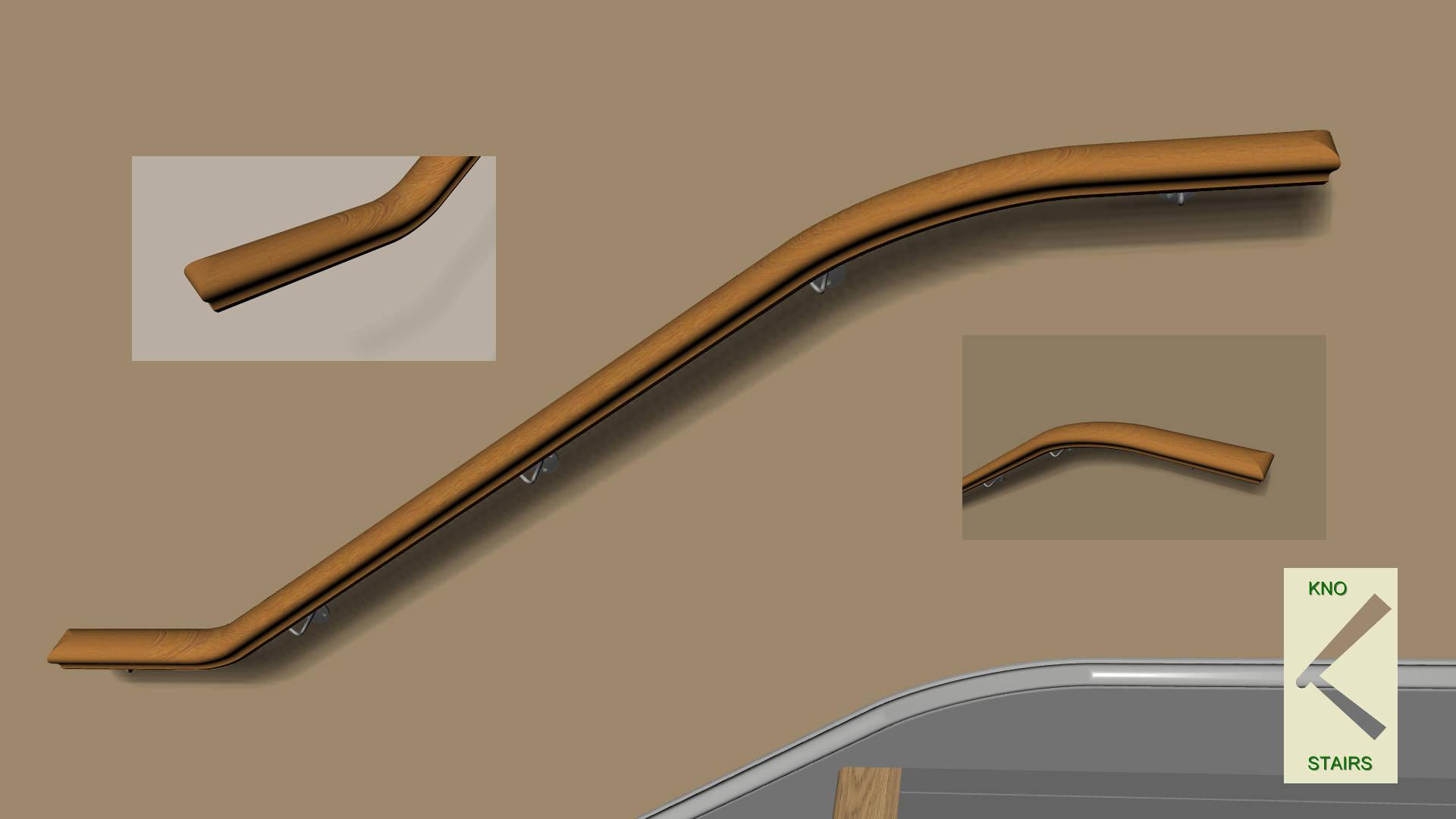 Ramped square profile
